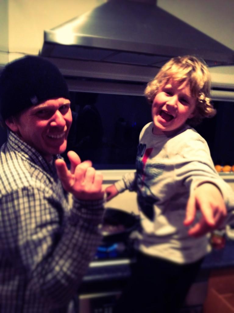 Boys cook Sloppy Joes!