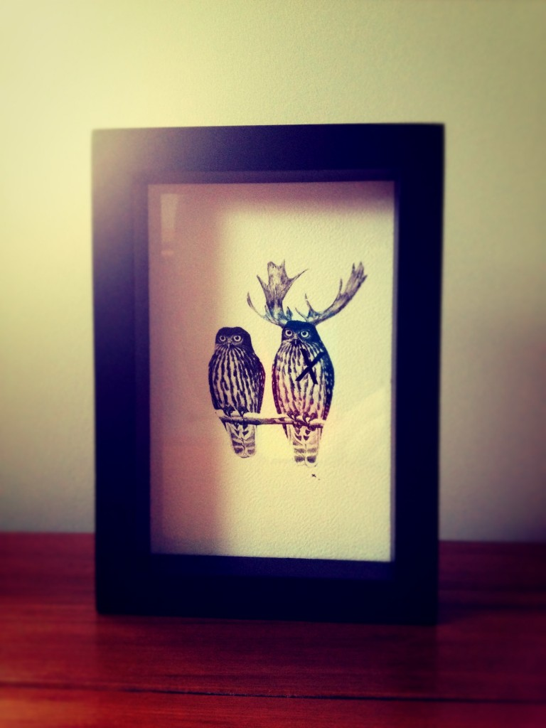 Owl Print - From Collected by LeeAnn Yare
