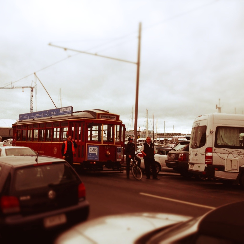 Viaduct tram