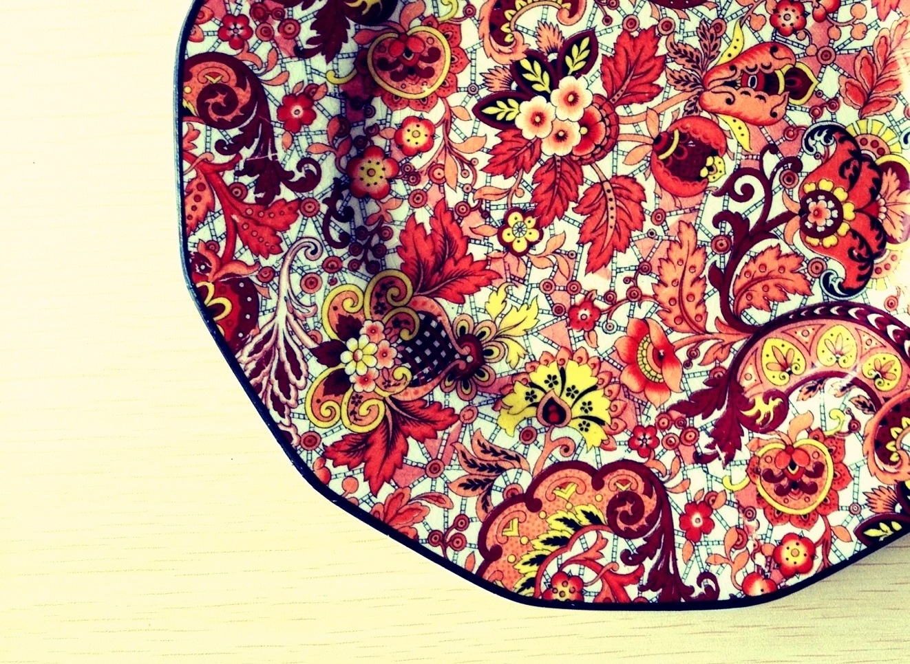 Paisley Plate