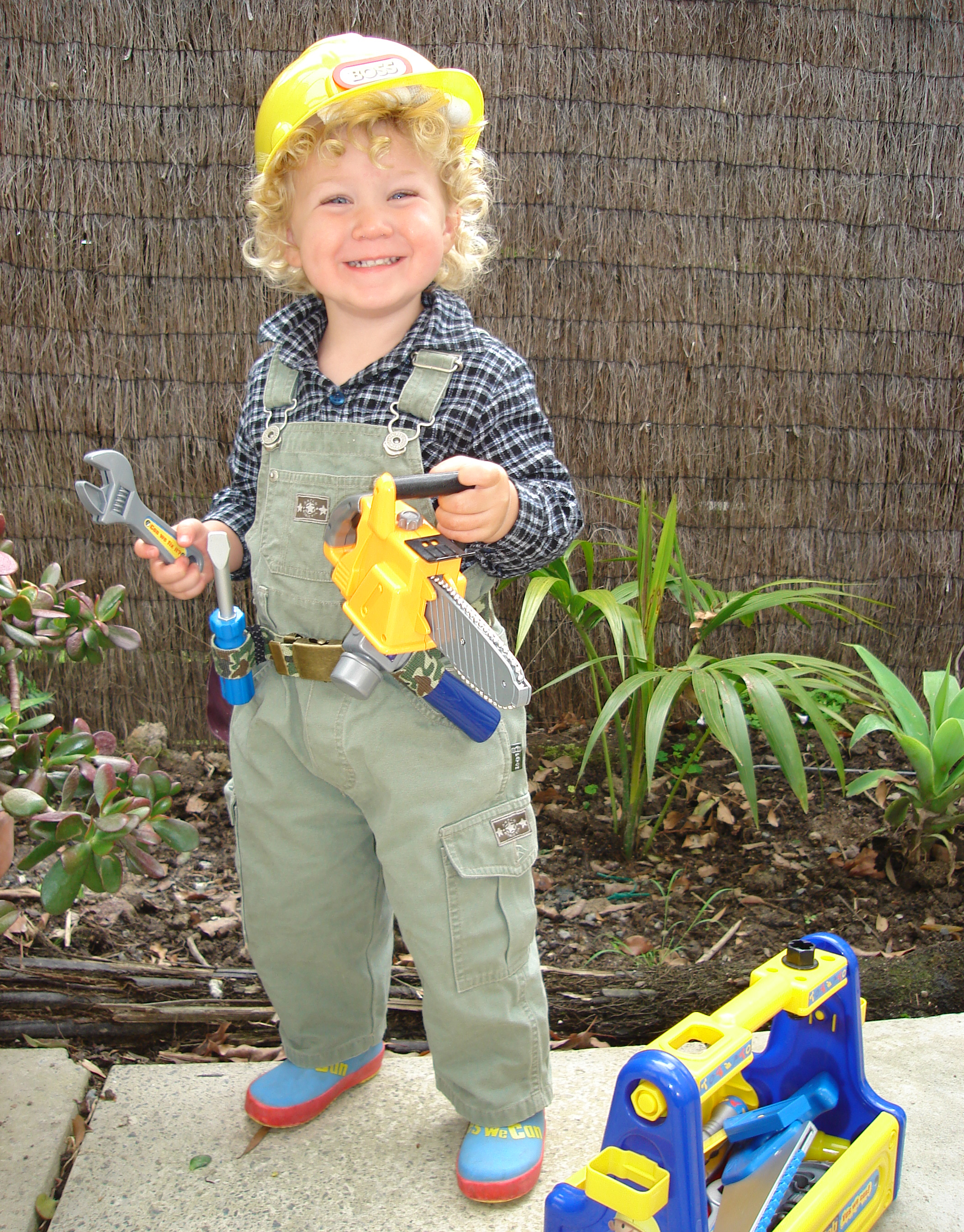 Happy Halloween from Bob the Builder!