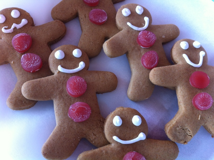 Crafty Baker GIngerbread men
