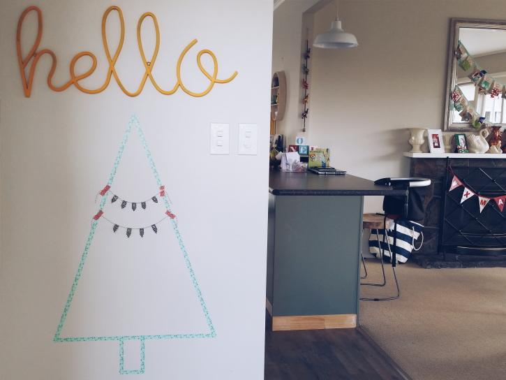 Washi Christmas Tree New Zealand
