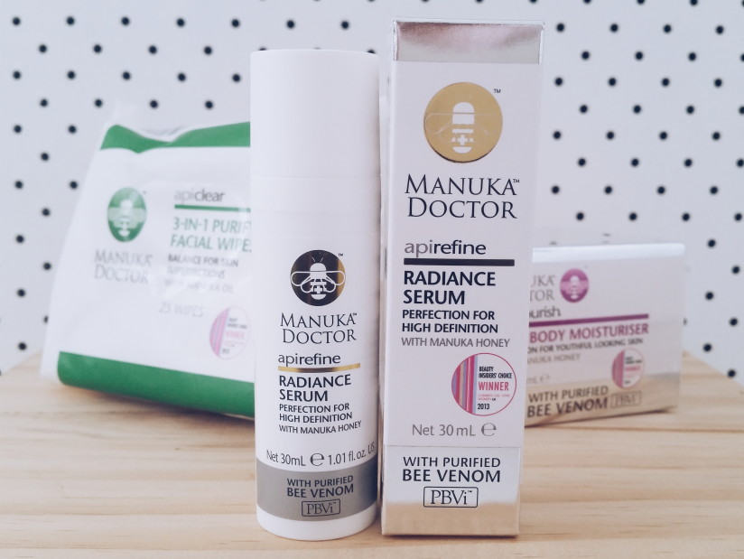 Beauty Blogger Manuka Doctor Radiance Serum Review NZ