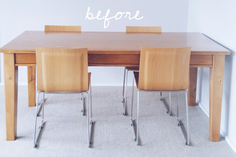 Dining Table Refinish DIY NZ Blog