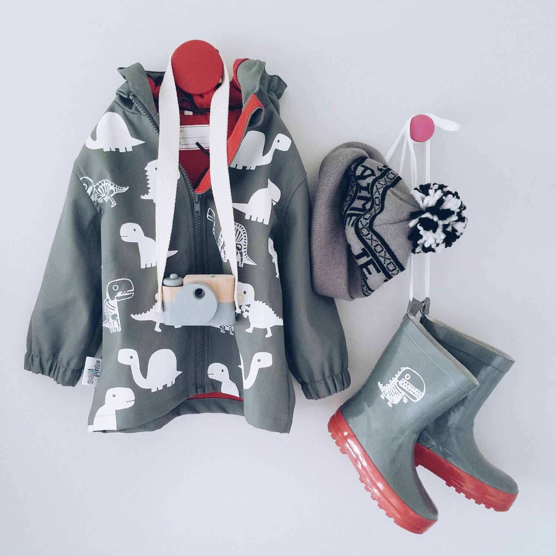 Squid Kids Colour Change Jacket Mummy Blogger NZ