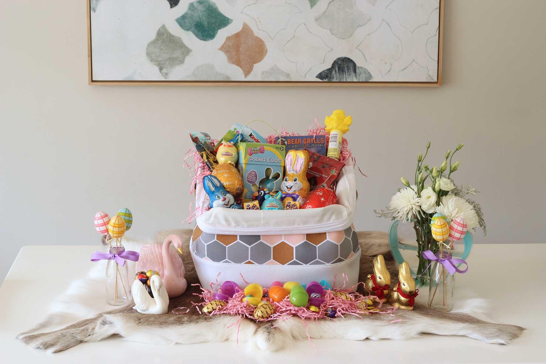 New Zealand's Top Mummy Mommy Blogger Blog Travel Easter Gift Basket