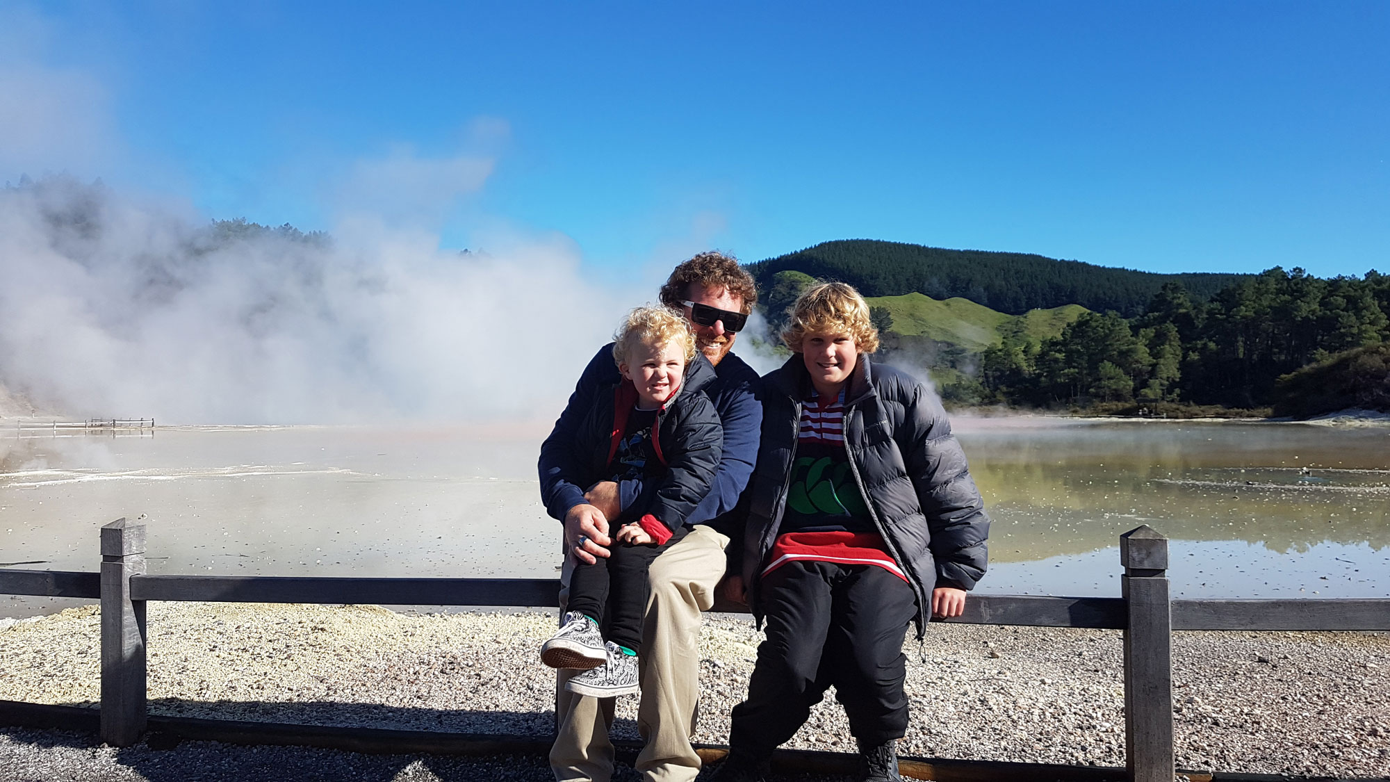 New Zealand's Top Mummy Blogger Parenting Rotorua Travel Blog Geothermal