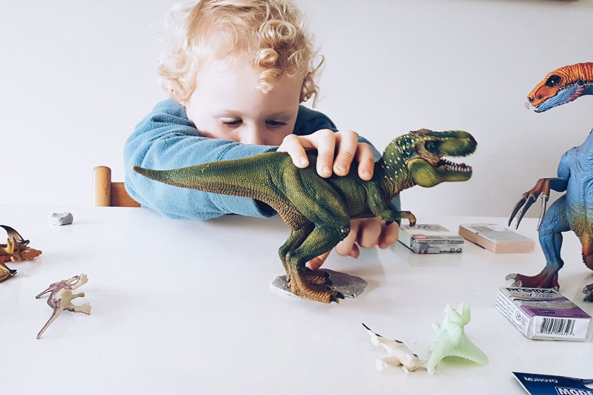 New Zealand's Top Mummy Blogger Parenting Rotorua Travel Blog Family Dinosaur Craft
