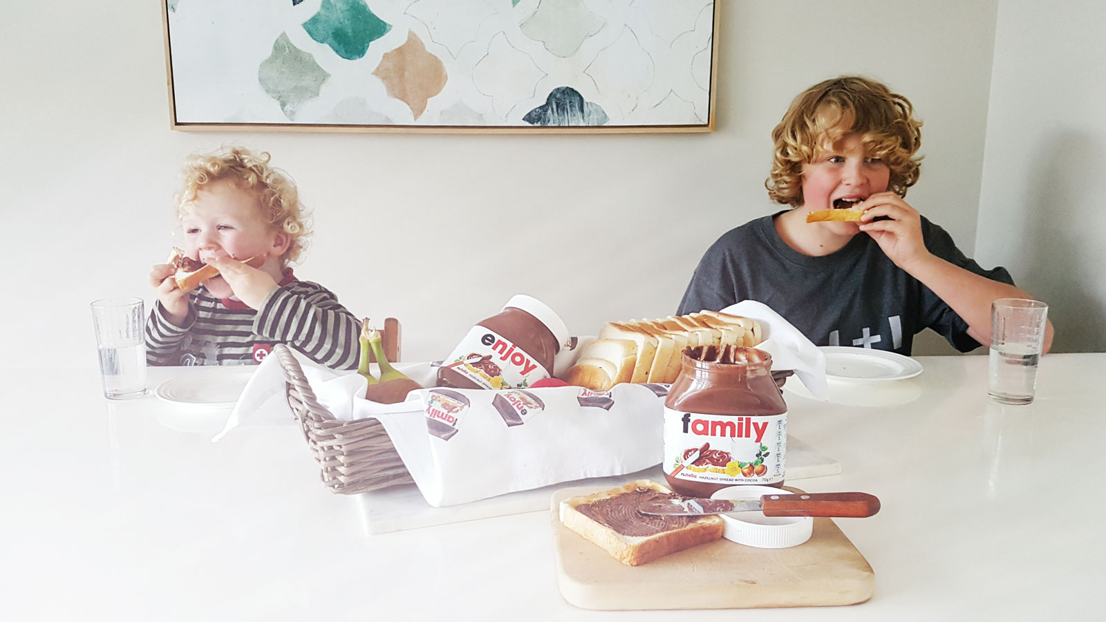 New Zealand's Top Mummy Blogger Parenting Travel Blog Family Kids Nutella